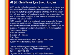 Aldi have launched a campaign.