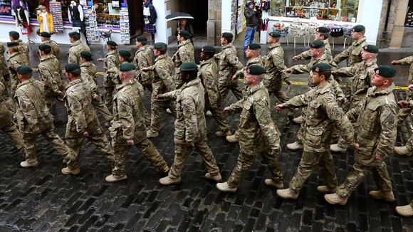 Soldiers could lose out under the benefits cap