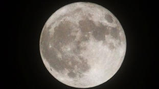 Supermoon in East Harling, Norfolk