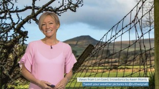 Wales Weather: Milder with a few showers!