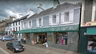 Moffat Tweed Shop high value cashmere goods stolen