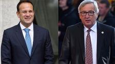 Varadkar, Juncker