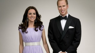 The Duke and Duchess of York in wax