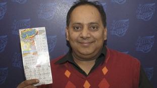 46-year-old Chicago lottery winner Urooj Khan