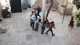 Children live under siege in bombarded Eastern Ghouta