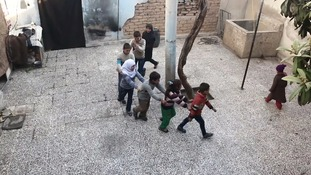 Many children in Eastern Ghouta cannot remember a time before the conflict.