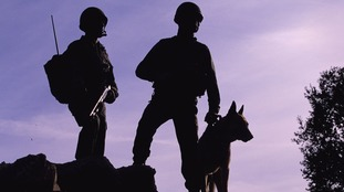 Retired 'hero' army dogs Kevin and Dazz saved after minister intervenes