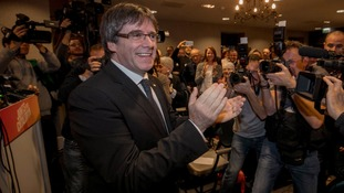 Catalan independence: European arrest warrants withdrawn for Carles Puigdemont and aides