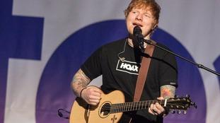 Ed Sheeran tops Spotify's most streamed artist list of 2017