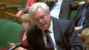 Mr Davis defended the governments efforts in the talks