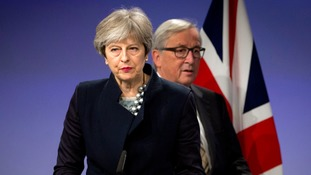 Theresa May saw her hopes for a deal scuppered by the DUP.