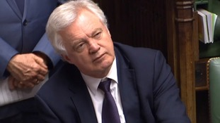 Brexit Minister David Davis was only told of the UK offer on Sunday.