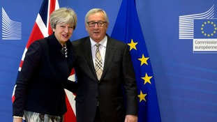 Theresa May and Jean-Claude Juncker were forced to admit they still had no agreement.