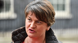 DUP leader Arlene Foster has said the British proposals are unacceptable.