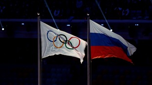 Russia team banned from Winter Olympics