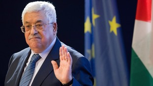 Palestinian President Mahmoud Abbas warned Trump could trigger tension across the Middle East.