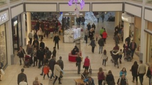 Shoppers at the Metrocentre.