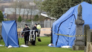 Police have begun to exhume a plot in the search for the remains of Moira Anderson