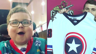 US team reaches out to little NI superhero fan