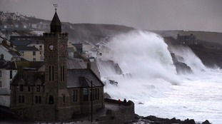 Weather warnings issued as Storm Caroline expected to bring winds of up to 90mph