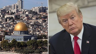 World leaders condemn Donald Trump's move to recognise Jerusalem as Israel's capital