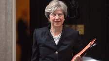 Theresa May said she and the Taoiseach agree it is of 'paramount importance' there is no hard border.