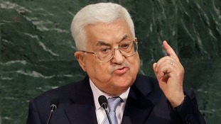 Palestine president Mahmoud Abbas condemned Trump's move.