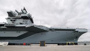 HMS Queen Elizabeth: The British Navy's biggest warship