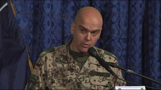 Nato command spokesman Brigadier General Gunter Katz