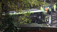 Croydon tram crash driver may have slept for 49 seconds, reports finds