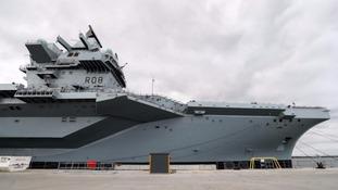 HMS Queen Elizabeth cost £3.1billion