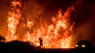 Donald Trump declares state of emergency over California wildfires that forced 200,000 people to flee