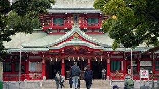 Chief priest and two others dead in samurai sword attack at Tokyo shrine