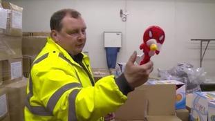 Massive seizure of fake goods in Southampton