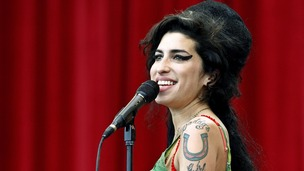 Amy Winehouse performing at the Glastonbury music festival in June 2007