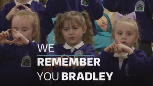 WATCH: Plaque unveiled in tribute to Bradley Lowery