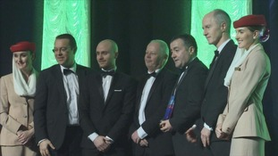 Top local companies named at UTV Business Eye Awards