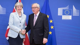 Theresa May and Jean-Claude Juncker welcomed the deal.