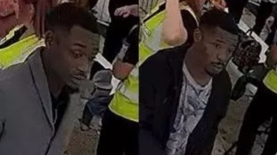 Police are looking for these two men.