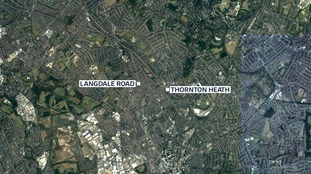 The victim was held captive at a property on Langdale Road in Thornton Heath
