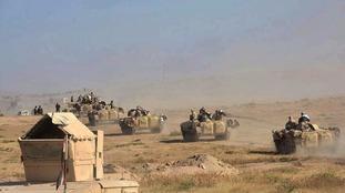Iraqi troops