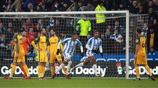 Huddersfield seal first win in over a month after seeing off Brighton