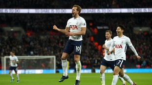 Tottenham continue good record against Stoke after 5-1 triumph at Wembley
