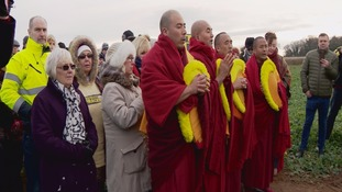 Gyuto  Monks blessed the site in Woodsetts