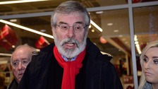 Gerry Adams gave the deal a 'cautious welcome'.