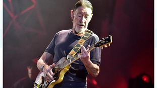 Singer Chris Rea collapses on stage