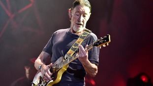 Chris Rea performs during his show in Prague, Czech Republic, on November 7, 2017.
