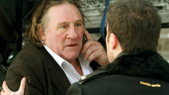 Gerard Depardieu preparing to play disgraced former IMF chief Dominique Strauss-Kahn in a film