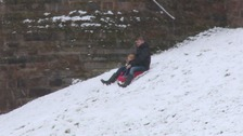Fears of snow disruption appear to have melted away