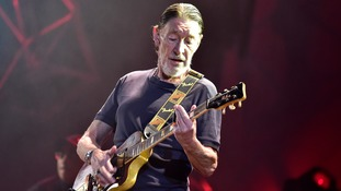 Driving Home For Christmas singer Chris Rea collapses on stage